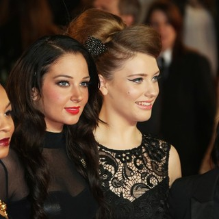Jade Ellis, Tulisa, Ella Henderson, Lucy Spraggan in World Premiere of Skyfall - Arrivals