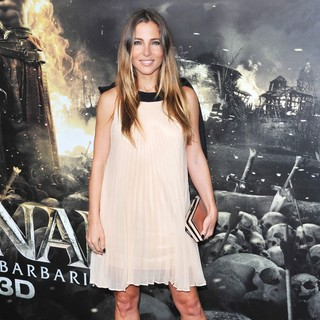 Elsa Pataky in The LA Premiere of Conan the Barbarian
