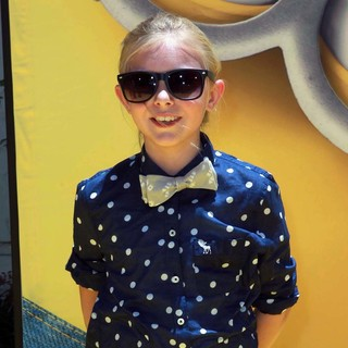 Elsie Fisher in Premiere of Universal Pictures' Despicable Me 2