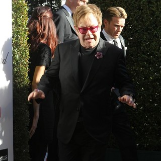 Elton John in 21st Annual Elton John AIDS Foundation's Oscar Viewing Party