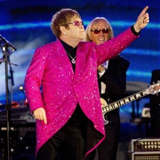 Elton John in The Diamond Jubilee Concert