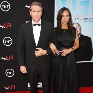 Cary Elwes, Lisa Marie Kublikoff in 41st AFI Life Achievement Award Honoring Mel Brooks - Red Carpet