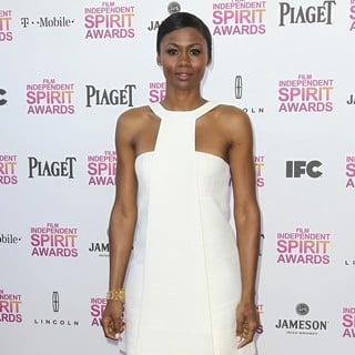Emayatzy Corinealdi in 2013 Film Independent Spirit Awards - Arrivals