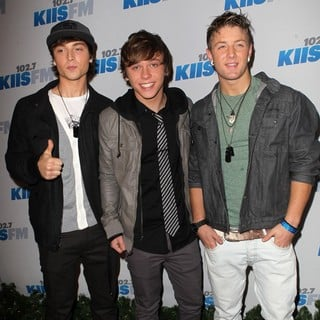 Emblem3 in KIIS FM's Jingle Ball 2012 - Arrivals