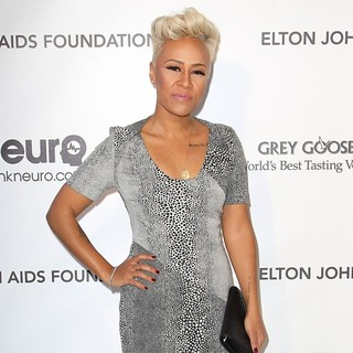 Emeli Sande in 21st Annual Elton John AIDS Foundation's Oscar Viewing Party