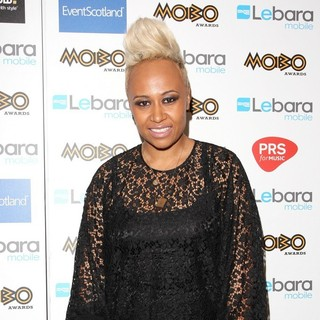Emeli Sande in The MOBO Awards 2011 - Press Room