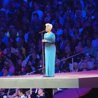 Emeli Sande in The Opening Ceremony of The London 2012 Olympic Games