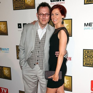 Michael Emerson, Carrie Preston in 2012 Critics' Choice TV Awards - Arrivals