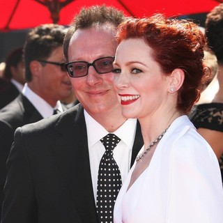 Michael Emerson, Carrie Preston in 2013 Primetime Creative Arts Emmy Awards - Arrivals