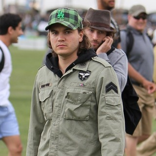 Emile Hirsch in Celebrities at The 2012 Coachella Valley Music and Arts Festival - Day 1