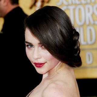 Emilia Clarke in The 20th Annual Screen Actors Guild Awards - Arrivals