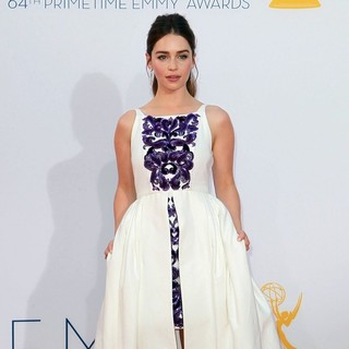 Emilia Clarke in 64th Annual Primetime Emmy Awards - Arrivals