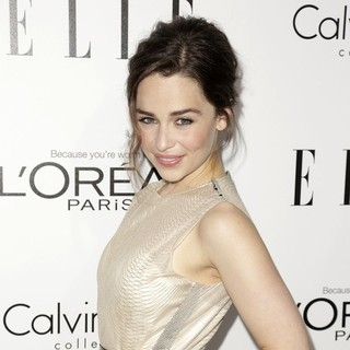 Emilia Clarke in ELLE 20th Annual Women in Hollywood Celebration