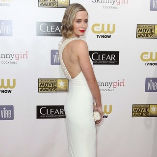 Emily Blunt in 18th Annual Critics' Choice Movie Awards