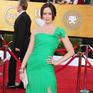Emily Blunt in The 18th Annual Screen Actors Guild Awards - Arrivals