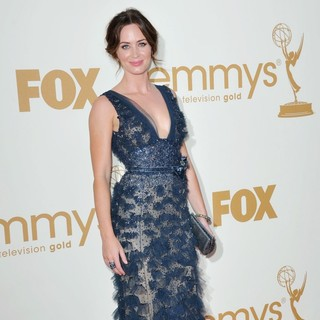 Emily Blunt in The 63rd Primetime Emmy Awards - Arrivals