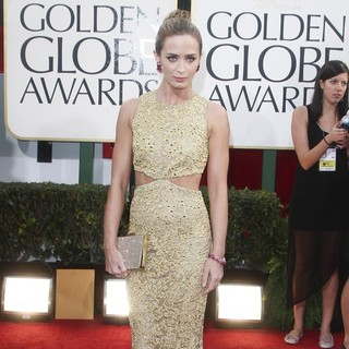 Emily Blunt in 70th Annual Golden Globe Awards - Arrivals