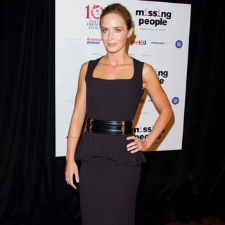 Emily Blunt in The London Critics' Circle Film Awards