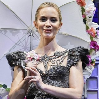 Emily Blunt in Mary Poppins Returns Tokyo Premiere