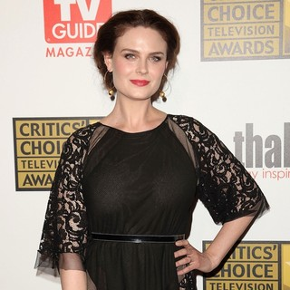 Emily Deschanel in 2012 Critics' Choice TV Awards - Arrivals