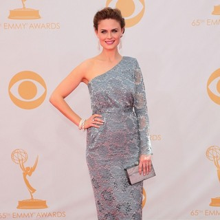 Emily Deschanel in 65th Annual Primetime Emmy Awards - Arrivals