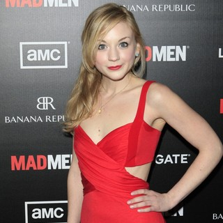 Emily Kinney in AMC's Special Screening of Mad Men Season 5 - Arrivals - emily-kinney-mad-men-season-5-01