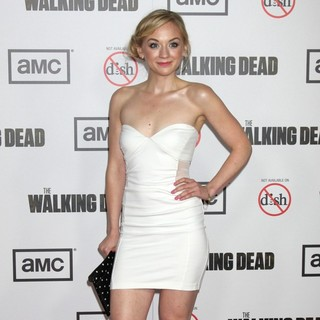 Emily Kinney in Premiere of AMC's The Walking Dead 3rd Season - Arrivals - emily-kinney-premiere-the-walking-dead-3rd-season-02
