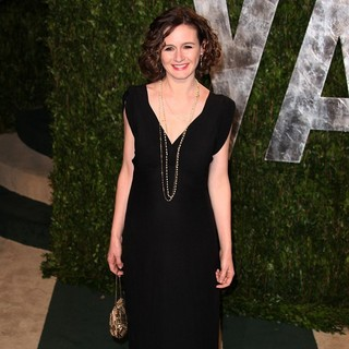 Emily Mortimer in 2012 Vanity Fair Oscar Party - Arrivals