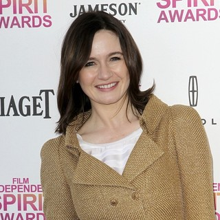 Emily Mortimer in 2013 Film Independent Spirit Awards - Arrivals