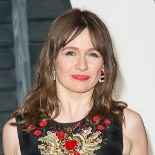 Emily Mortimer in 2015 Vanity Fair Oscar Party - emily-mortimer-2015-vanity-fair-oscar-party-01