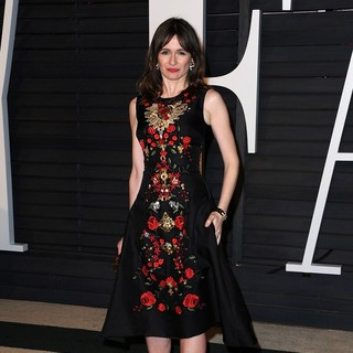 Emily Mortimer in 2015 Vanity Fair Oscar Party - emily-mortimer-2015-vanity-fair-oscar-party-02