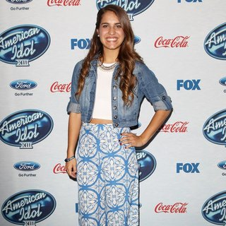 Emily Piriz in FOX's American Idol XIII Finalists Party
