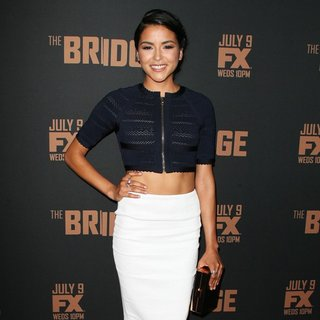 Emily Rios in FX's The Bridge Premiere