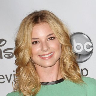 Emily VanCamp in 2011 Disney ABC Television Group Host Summer Press Tour