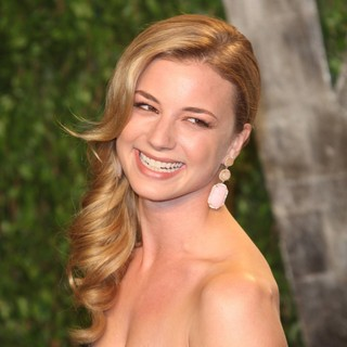 Emily VanCamp in 2012 Vanity Fair Oscar Party - Arrivals