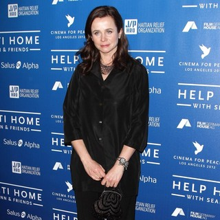 Emily Watson in Cinema for Peace Event Benefitting J-P Haitian Relief