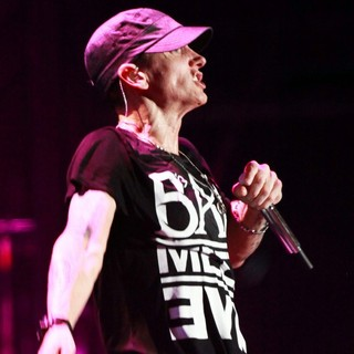 Eminem in Day Two at Lollapalooza