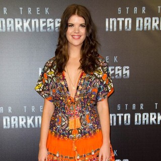 Emma Birdsall in The Sydney Premiere of Star Trek Into Darkness - Arrivals