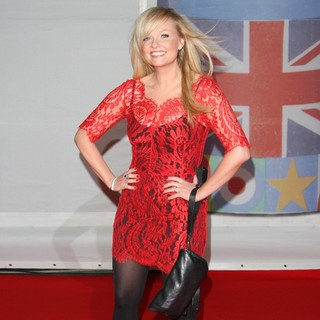 Emma Bunton in The BRIT Awards 2012 - Arrivals