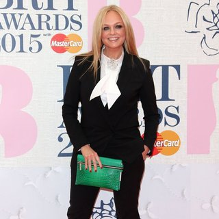 Emma Bunton in The Brit Awards 2015 - Arrivals