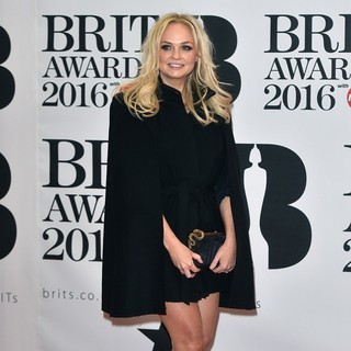 Emma Bunton in The Brit Awards 2016 - Arrivals