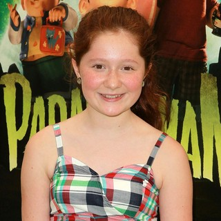 Emma Kenney in World Premiere of ParaNorman