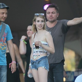 Emma Roberts in Celebrities at The 2012 Coachella Valley Music and Arts Festival - Week 2 Day 3