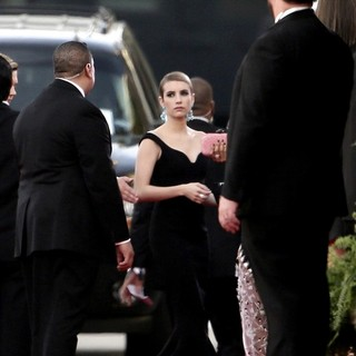 Emma Roberts in 71st Annual Golden Globe Awards - Arrivals