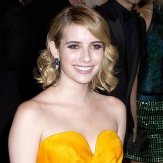 Emma Roberts in Schiaparelli and Prada Impossible Conversations Costume Institute Gala
