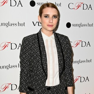 Emma Roberts in The Vogue Eyewear and CFDA Unveiling of The Emma Sunglass with Nanette Lepore and Emma Roberts