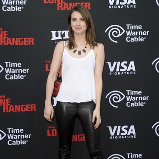 Emma Roberts in The World Premiere of Disney-Jerry Bruckheimer Films' The Lone Ranger