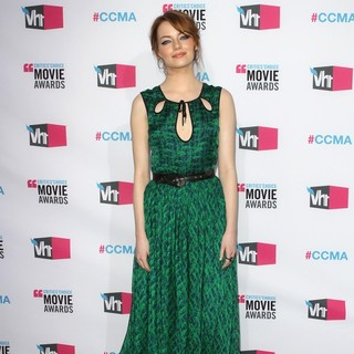 Emma Stone in 17th Annual Critic's Choice Movie Awards - Arrivals