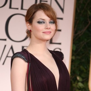 Emma Stone in The 69th Annual Golden Globe Awards - Arrivals