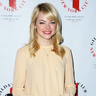 Emma Stone in Gilda's Club NYC 6th Annual Benefit Luncheon Celebrating Women Working and Living with Cancer